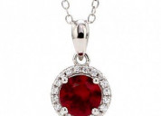 Buy ruby necklace set online in india from ornate