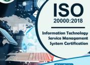 Iso 20000 certification in faridabad