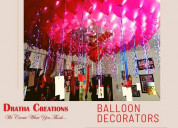 Best birthday decorators in bangalore