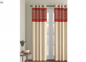 Grab upto 55% off + extra 20% discount on curtains
