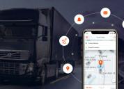 Logistics app development company for transport