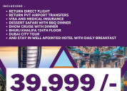 Exclusive offers and discount on dubai packages.