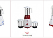 Mixer grinders manufacturer and supplier in india