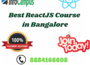Best reactjs course in bangalore