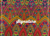 Buy colorful georgette fabrics with stylish design