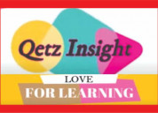Qetz insight education | demonstrates how to make