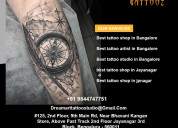 Best tattoo studio and best tattoo parlour in bang