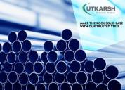 Ms pipe manufacturers - utkarsh india