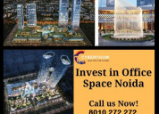 Bhutani cyberthum - commercial space in noida