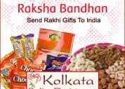 Send exclusive rakhi gifts to kolkata on the same