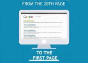 Increase website ranking through best seo services.