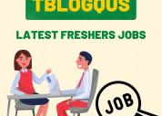 Tblogqus - latest fresher jobs