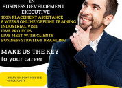Industrial training in business development execut