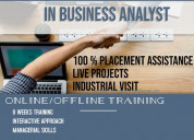 Industrial training in business analyst in mohali