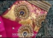 Nichi embroidery -  aari work classes