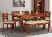 Get the best dining table set online @upto 55% off