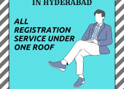 Company formation in hyderabad | registration in 1