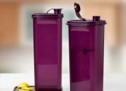 Tupperware fridge water bottle pitcher slim line 2