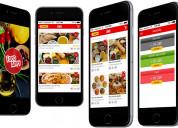 Create an on-demand custom food app now