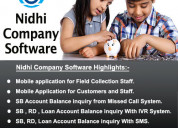 Best nidhi software company