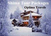 Get affordable shimla tour by optima travels pvt.
