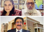 Sandeep marwah honoured for his services to educat