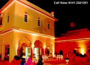Royal wedding venue in jaipur | hotel narain niwas