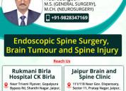 Dr krishna hari sharma | neurosurgeon in jaipur.