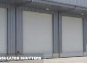 Aluminium rolling shutter | insulated rolling shut