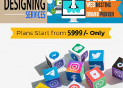 Website design at low cost