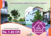 4bhk villas for sale in bowrampet | vajradeveloper