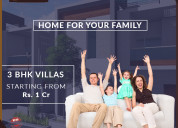 Water front villas in patancheru | good time buil