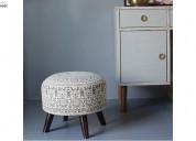Get unique designs of ottoman chair @ woodenstreet