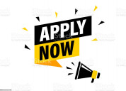 Worried by searching work, stop search & apply now