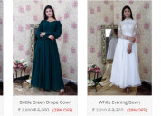 Shop gowns for ladies online in visakhapatnam