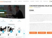 Php readymade crowdfunding mlm  script