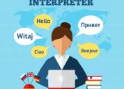 Interpretation service - professional interpreter|