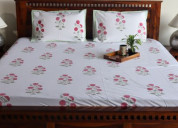Order online double bed sheets from woodenstreet