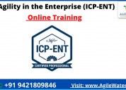 Agility in the enterprise (icp-ent) certification