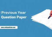 Aktu previous year b.tech question paper | college