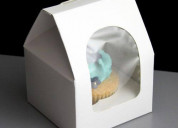 Get special discount on individual cupcake boxes