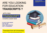 Bangalore university transcript contact number