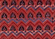 Ajrakh cotton fabric online