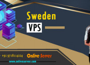 Sweden vps with massive storage by onlive server