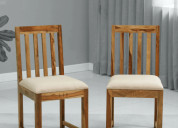 Dining chair online: buy wooden dining chair onlin