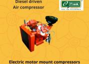 Diesel driven aircompressor manufacturer