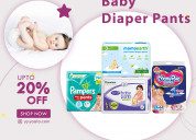 Mamaearth plant based diaper pants size xl(12-17 kg) pack of 30 only 699rs