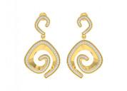 Get online faren diamond earrings in gold
