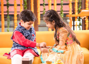 Online rakhi delivery in ghaziabad from myflowertr