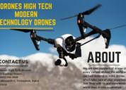 Drone high tech modern technology drones
